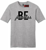 Be Fearless Mens Soft T Shirt Inspirational Motivational Holiday Gift Tee Z2