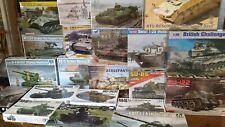 Airfix, Tamiya, Takom, Dragon etc... AFV's Larger Scale Model Kits - Your Choice