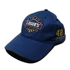 Team Lowe's Racing #48 Jimmie Johnson sewn on signature 2006 cup series champion