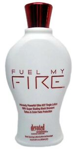 Devoted Creations Fuel My Fire Sizzling Hot Tingle Tanning Lotion 12.25 oz