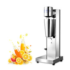 Commercial Milk Shake Machine Single Head Milk Tea Mixer Stainless Steel Equip
