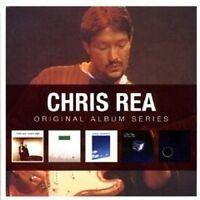 """CHRIS REA """"ORIGINAL ALBUM SERIES"""" 5 CD NEU"""