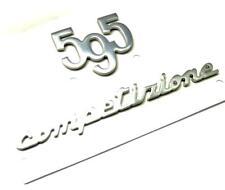 500 Abarth 595 Competizione Rear Badge Emblem Logo Tailgate Trunk New Genuine