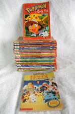 *2s2* Pokemon classic chapter books 1 to 22 - first print Scholastic + bonus