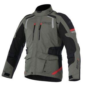 Alpinestars ANDES V2 Drystar Military Green Motorcycle Textile Touring Jacket