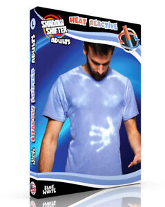 Shadow Shifter ADULT BLUE Men's/Unisex Color Changing T-Shirt Heat Sensitive