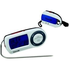 Taylor 1479 Wireless Food Thermometer w/ Timer & Remote Pager