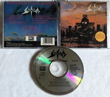 Sodom - Persecution Mania CD ORG R/C 1988 kreator destruction coroner