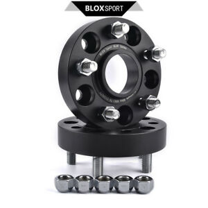 5x127 | 2x 25mm for Jeep Wrangler JK 2007+ Wheel Spacer Adapter 5x5.5inch CB71.6