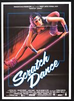Werbeplakat Scratch Dance Heavenly Bodies Kino Dane Fitness Aerobic Sport M13