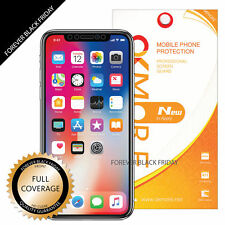 iPhone X Full Coverage Screen Protector Cover Guard Curved Edges