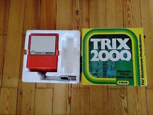 Trix 2000 EMS Zusatz für Infrarotfernsteuerung mit Betriebsanleitung OVP
