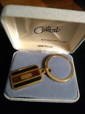 Men'S Colibri 18K Gold Electroplated Key Chain (Made In Usa)