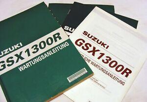 Suzuki GSX1300R 99 Hayabusa Original Werkstatthandbuch Wartungsanleitung deutsch