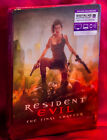Resident Evil: The Final Chapter Blu-ray Lenticular Edition Steelbook New