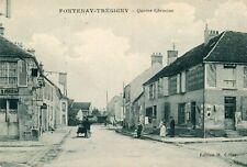 Carte FONTENAY TRESIGNY Quatre Chemins