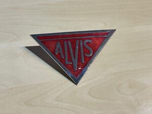 Vintage Alvis (Cars) Enamel Bonnet Badge