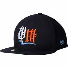 West Michigan Whitecaps New Era Authentic Road 59FIFTY Fitted Hat - Navy