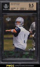 2003 Upper Deck Football Tony Romo ROOKIE RC #256 BGS 9.5 GEM MINT