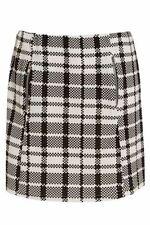 Checked Short/Mini Formal Regular Size Skirts for Women