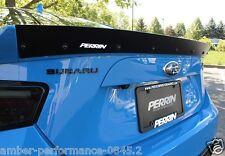 Perrin performance spoiler arrière gurney flap-fits subaru brz/toyota GT86