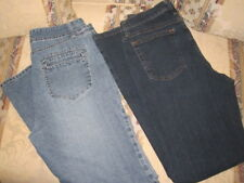 2 Pair Of Womens Jeans- Gloria Vanderbilt Jeans/Riders Jeans Size 10
