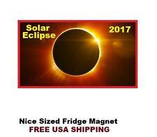 377 - Solar Eclipse 2017 Refrigerator Fridge Magnet