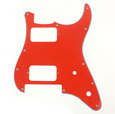 Charvel SO CAL Style Replacment Guitar Pickguard ,3ply Red
