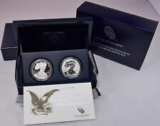 "2012 US Mint American Eagle S 2-Coin Silver Proof & Reverse Proof Set      ""WOW"""
