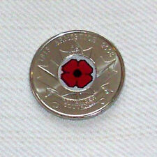 Canada 2008 Quarter Cent Commemorative POPPY image (WWI) - SOLD OUT - UNC