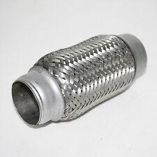 "Flexi Pipe Flex Joint Exhaust 50mm X 150mm Flexipipe Tube Cat Repair 2"" X 6"""