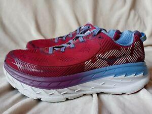 HOKA ONE ONE BONDI 5 Women's Size 7.5 Running Shoes Cherries Jubilee 1014759