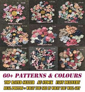 5PCS Korea Flower Petal Craft DIY Handmade Headband Sew Embellishment VIVI BEADS