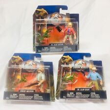 Jurassic World 2 Fallen Kingdom Legacy 3 Movie Figure Lot Sattler Grant Muldoon