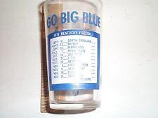 1978 University of Kentucky football glass, Go big Blue
