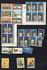 Ireland lot MNH stamps and sheets, festival folded 2 scans