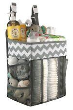 Babywards Hanging Diaper Caddy, Changing Table,Nursery Organizer, Crib Wall