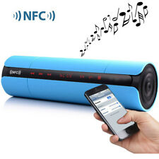 MINI Wireless Bluetooth Portable Speaker NFC Stereo LCD Touch AUX For IPhone7 PC