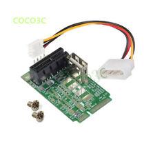 Mini PCIe To PCI express X1 slot adapter PCI-e X4 X16 test tool card 4pin Power