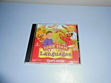 Cd-Rom Educational Jump Start Languages Ages 3-5