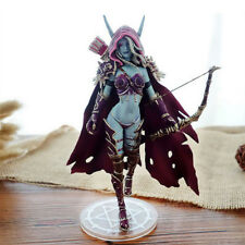 "6"" World of Warcraft Forsaken Queen Sylvanas Windrunner Figure Statue Toy in box"