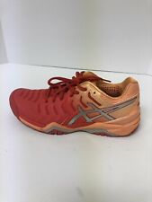 ASICS Gel Resolution 7 Women's Size 8M Tennis Shoes Red