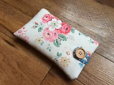 iPod Nano 7th / 8th Gen Fabric Padded Case Handmade In Cath Kidston Forest Bunch