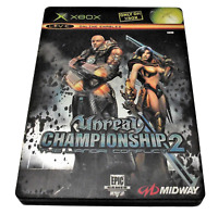 Unreal Championship 2:The Llandri Conflict XBOX PAL *Complete* Steelbook