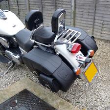 De Cuero Moto Alforjas Alforjas Suzuki Vl800 Volusia M800 1500 Intruso