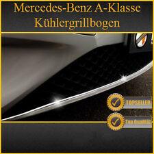 MERCEDES A-KLASSE W176 - CHROM ZIERLEISTE CHROMLEISTE KÜHLERGRILLBOGEN BOGEN NEU