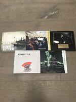 Josh Ritter CD Lot of 5 Different Album CD's - including So The World Runs Away