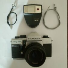 PRAKTIKA MTL50 SLR CAMERA AND ACCESSORIES.