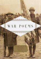 Everyman's Library Pocket Poets: War Poems (1999, Hardcover)