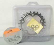 ONZA Buzz Saw Stainless Steel chainring. NEW 24 tooth. 74mm bolt pattern. Boxed